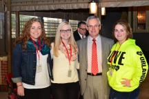 Tressel with students.